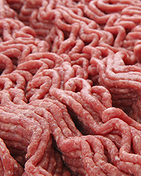 Photo of raw ground beef